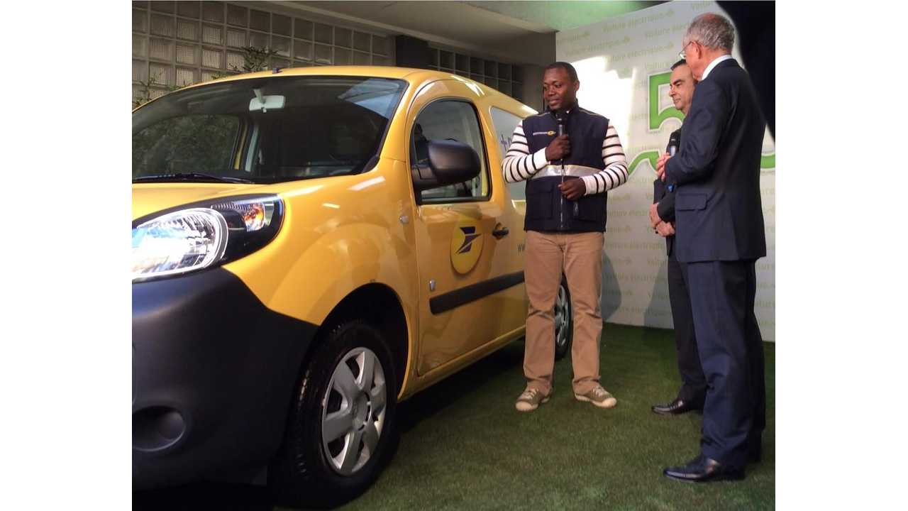 Renault Delivers 5,000th Kangoo Z.E.