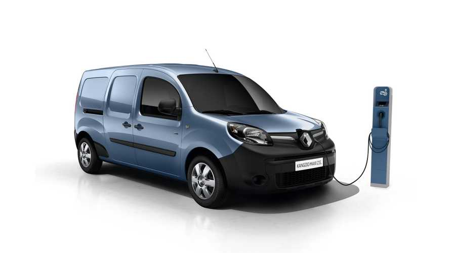French Post Now Uses 7,000 Renault Kangoo Z.E. Electric Vans
