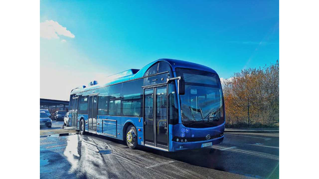 BYD Produces Its First Electric Buses In France