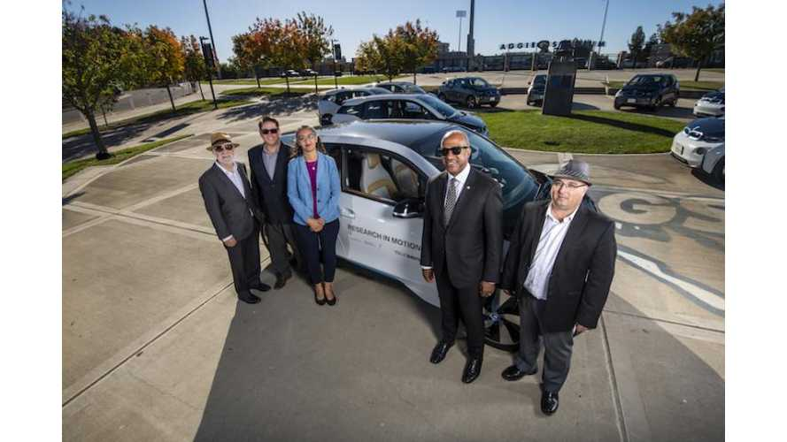 UC Davis To Study How To Integrate EVs Using 10 BMW i3