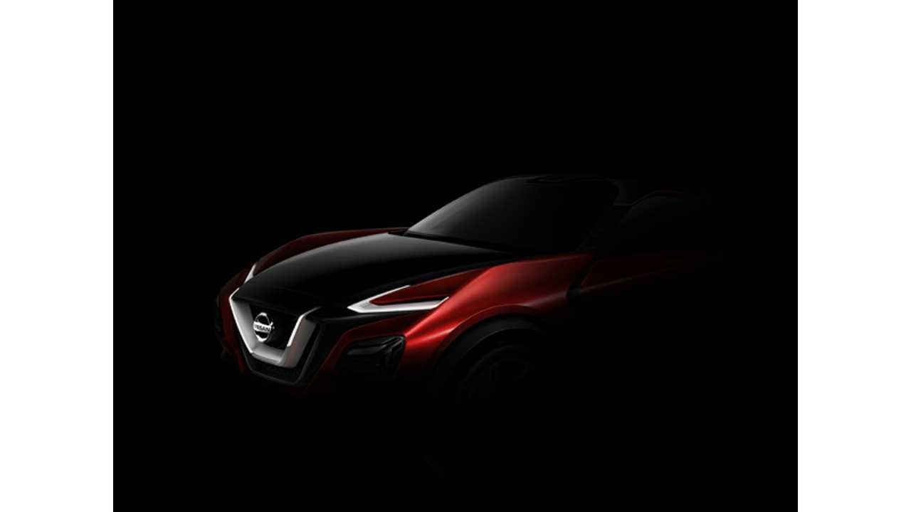 Nissan new front in non-electric model