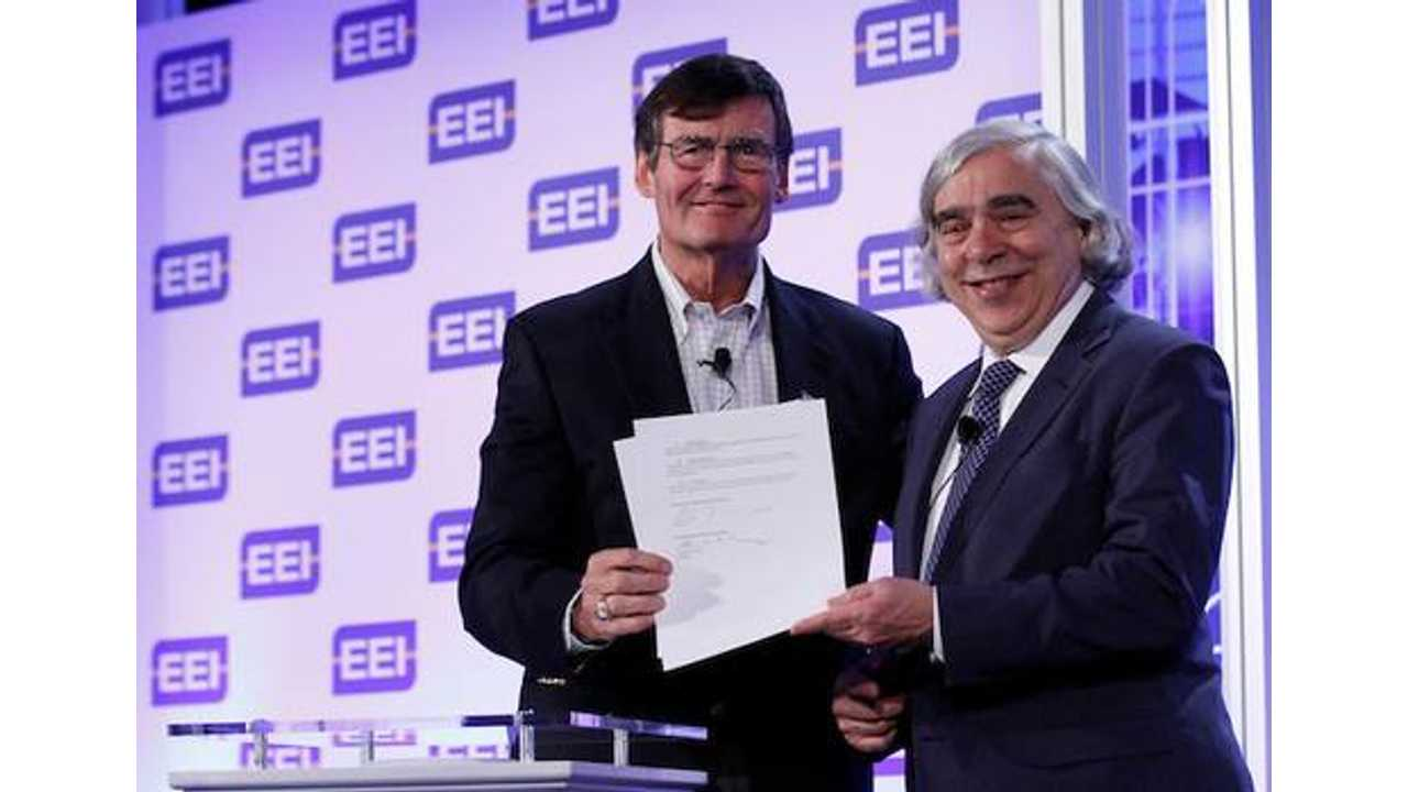 Edison Electric Institute Partners With DoE To Promote Widespread Adoption Of Plug-In Electric Vehicles