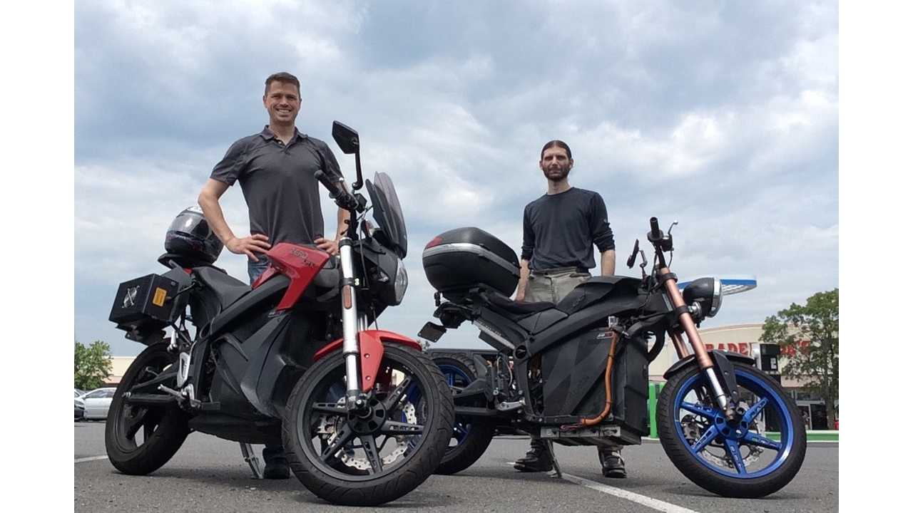 Three Country Tour on an Electric Motorcycle – Frankenbike (w/video)