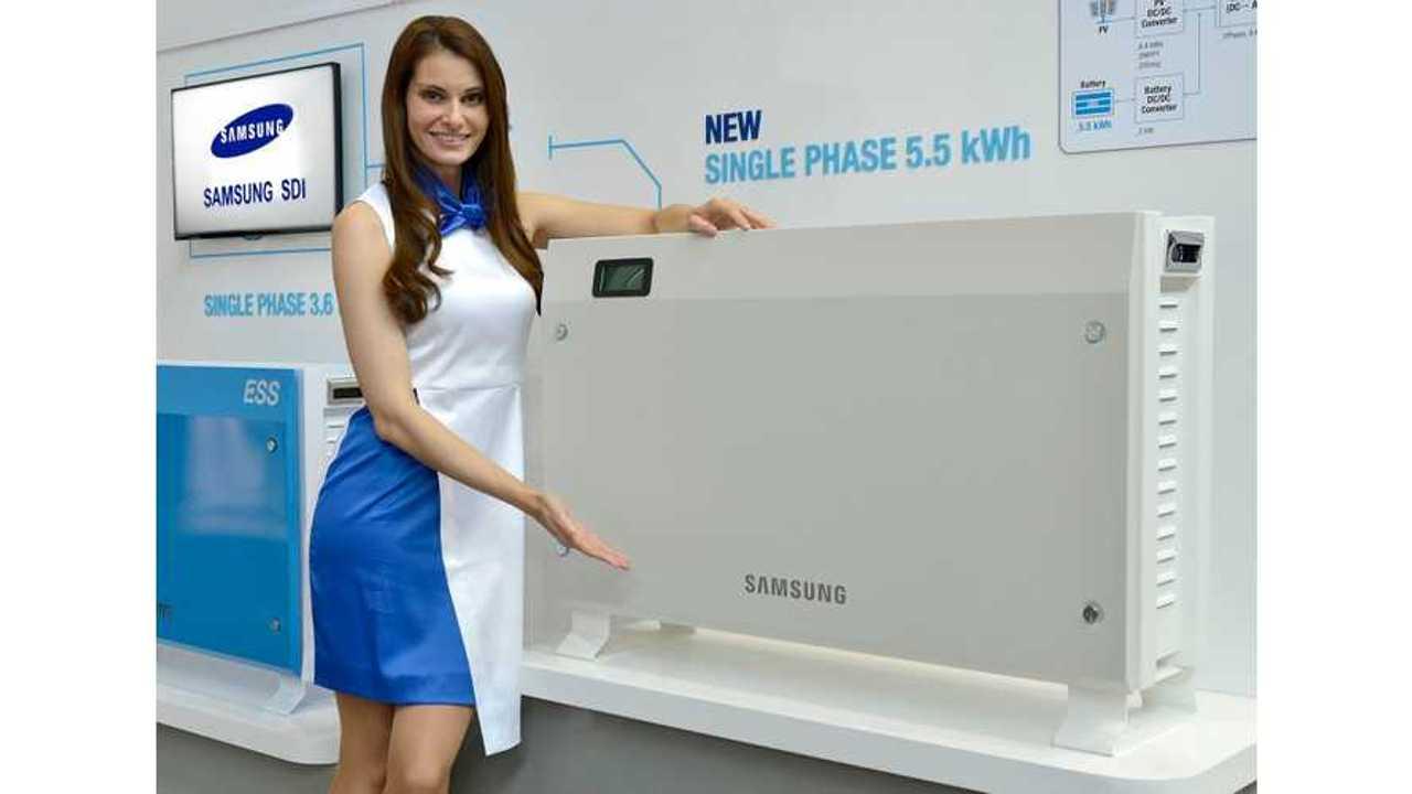 Samsung SDI Unveils New Energy Storage Products at Intersolar Europe 2015