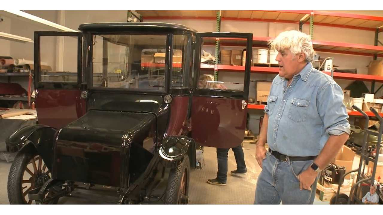 Jay Leno's Garage restoring 1914 Detroit Electric