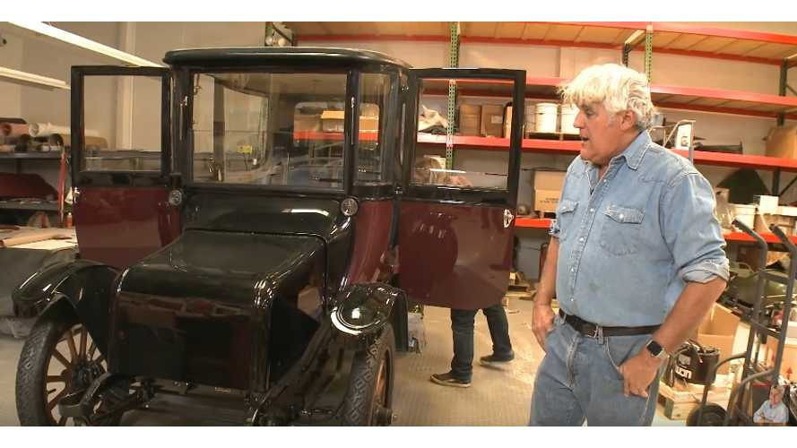 Jay Leno To Modernize 1914 Detroit Electric - Video