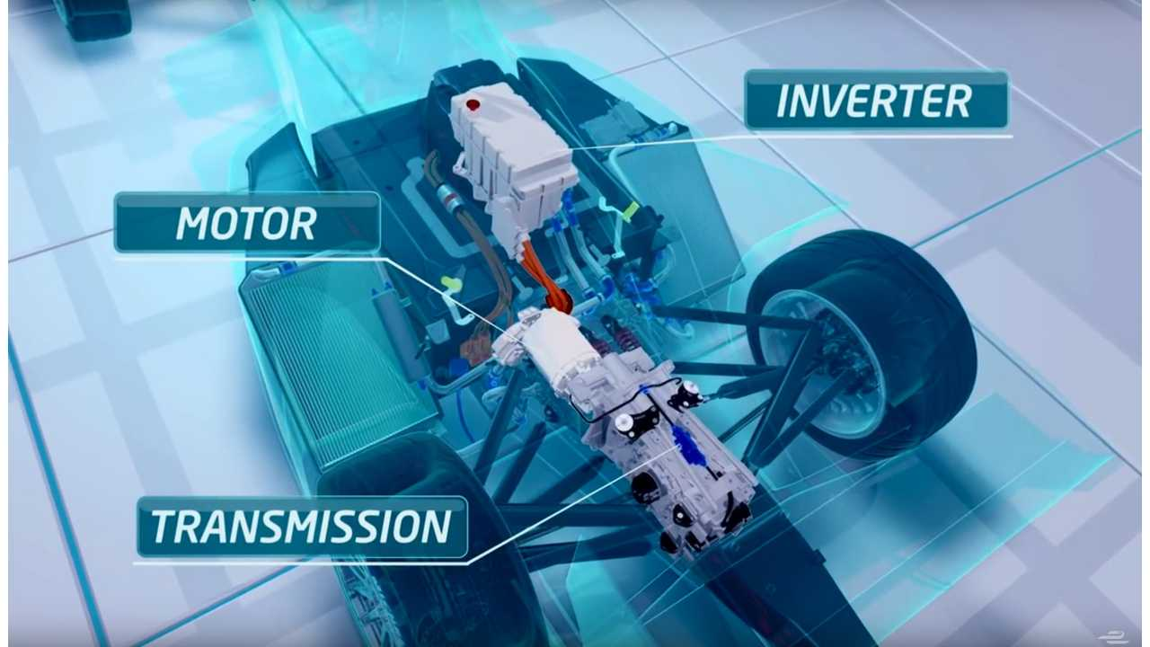 Differences Between The Drivetrains In Formula E Racers - Video