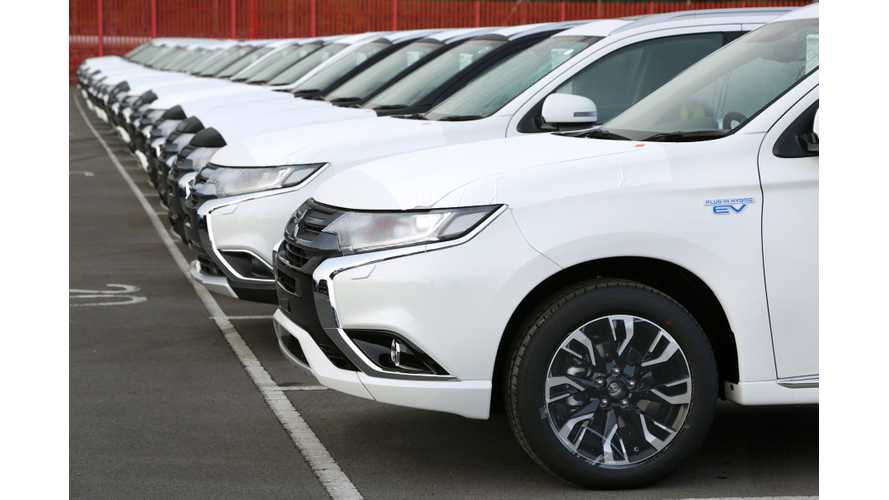 Mitsubishi More Than Doubled Sales Of Outlander PHEV In Japan In February
