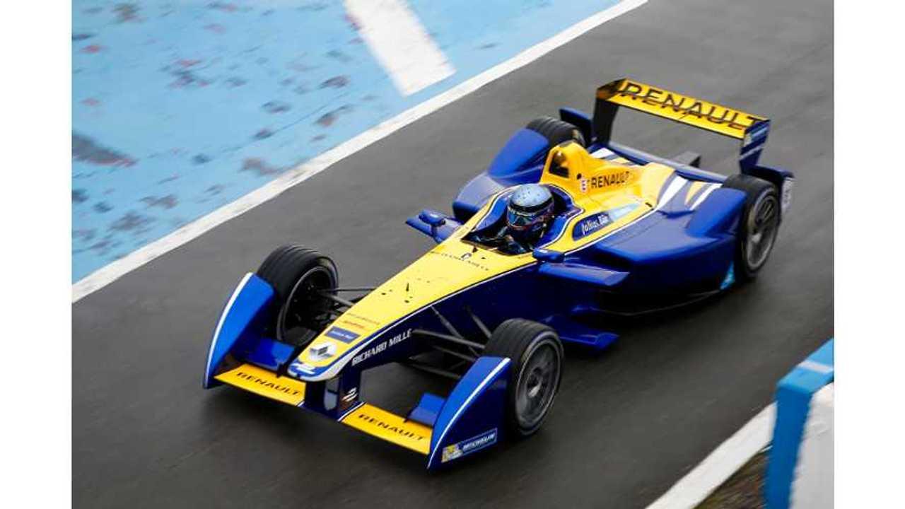 Renault Z.E 15 Formula E Racer Presentation & Reference To ZOE - Video