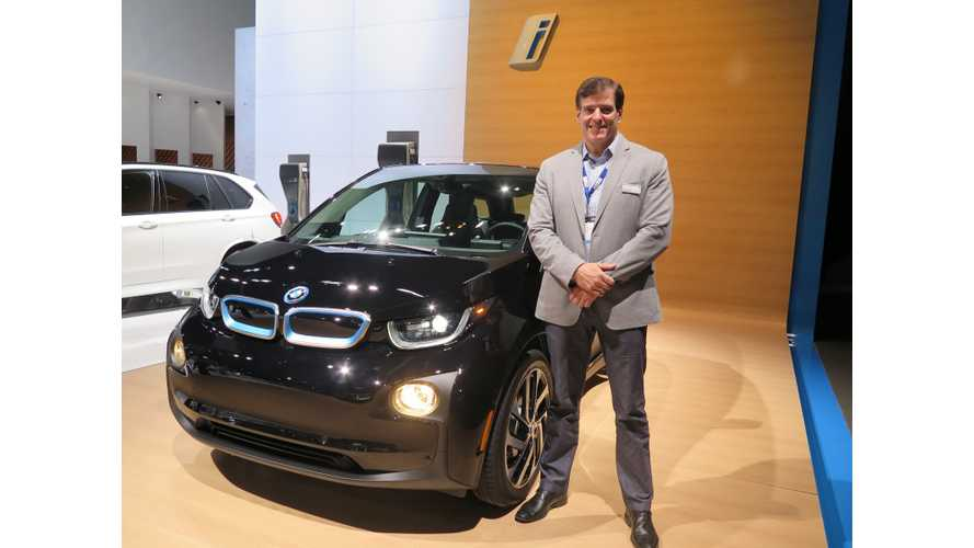 BMW Charging Infrastructure Discussions With Execs From LA Auto Show - Part 1