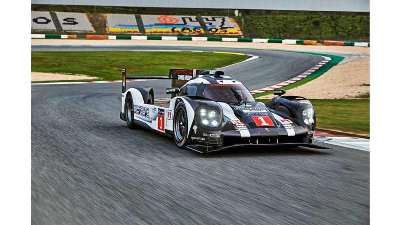 Porsche 919 Hybrid LMP1 Racer Features 800 Volt Battery Technology