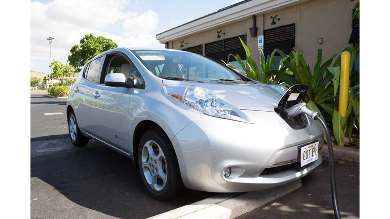 Hawaii Reaches Milestone Of 5,000 Electric Cars On The Road