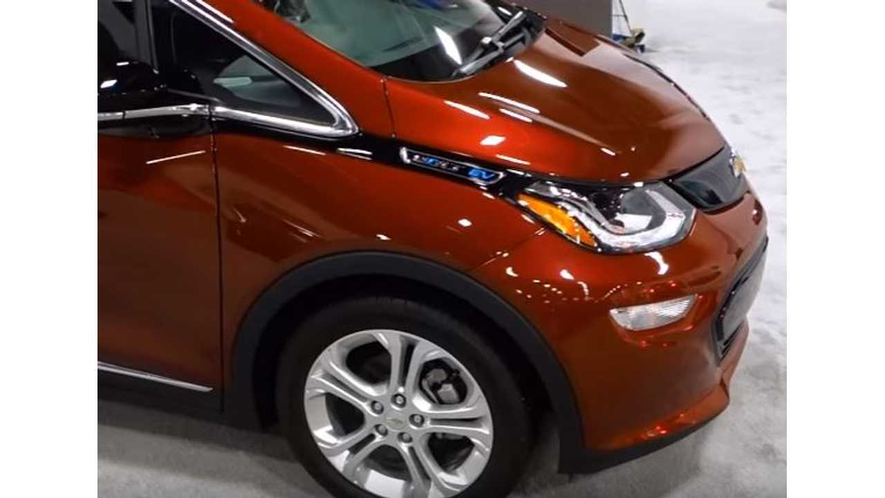 Chevrolet Bolt Declared Car Of The Year By Detroit Free Press