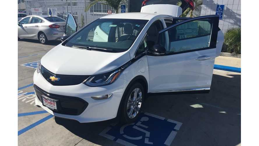 Volume* Chevrolet Bolt Deliveries Now Underway