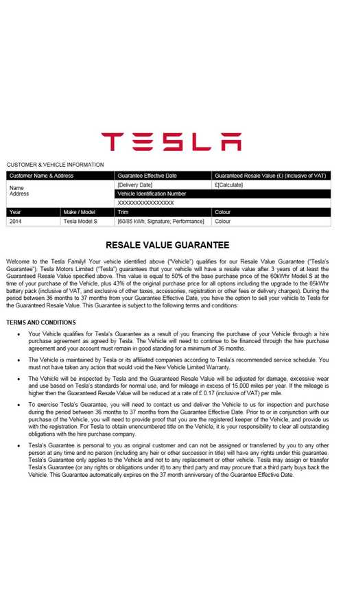 Tesla Model S Resale Value Guarantee Program Now Includes 11 Countries In Europe