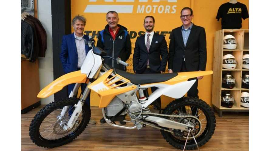 Alta Motors Began Deliveries Of Redshift Motorcycles