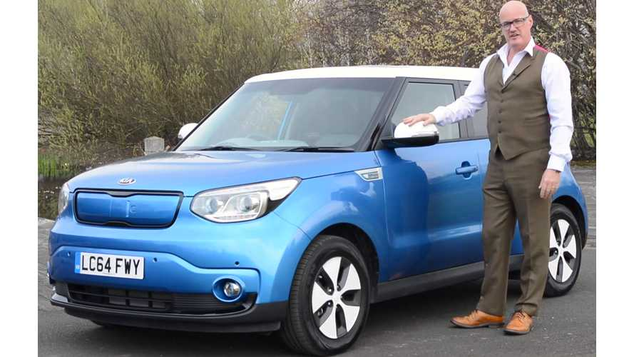 Kia Soul EV Test Drive In Scotland - Video