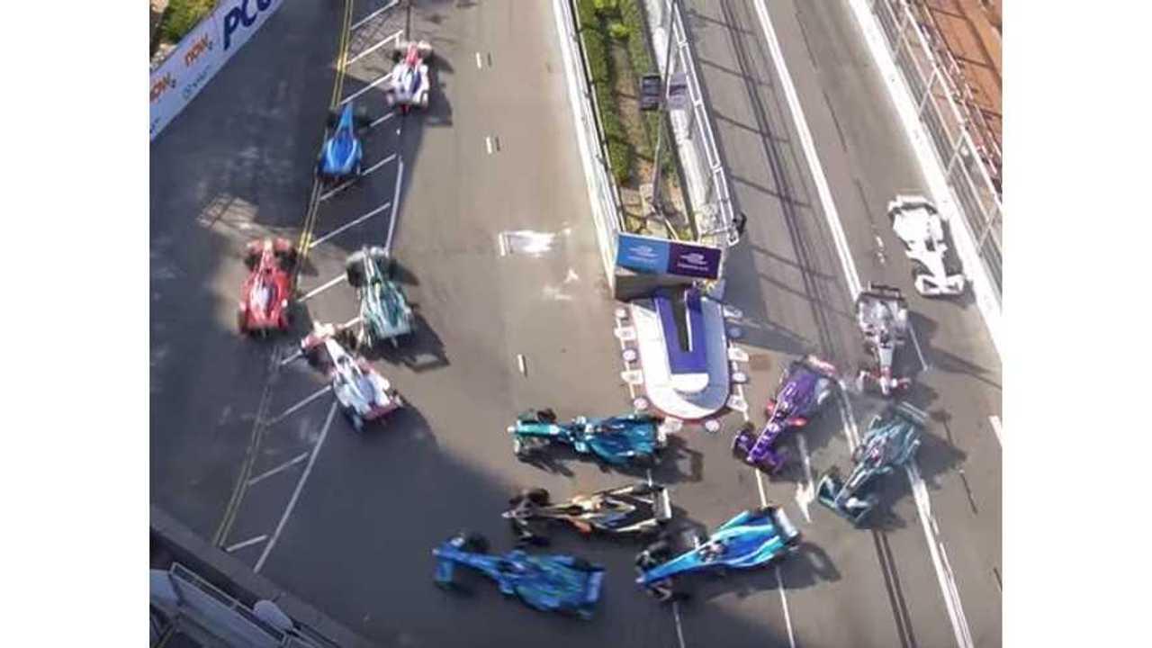 Formula E Hong Kong Race 1 - Video Highlights