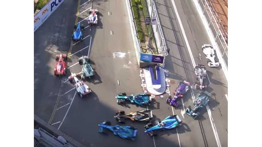 Formula E Hong Kong Race 1 - Video Highlights