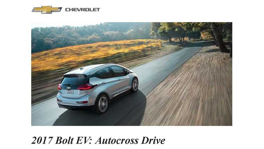 2017 Chevrolet Bolt EV Official Autocross Event: Video And Gallery