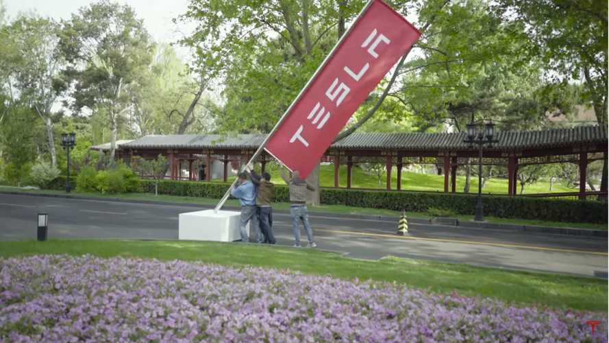 UPDATE: Tesla Signs Agreement To Build EVs in China