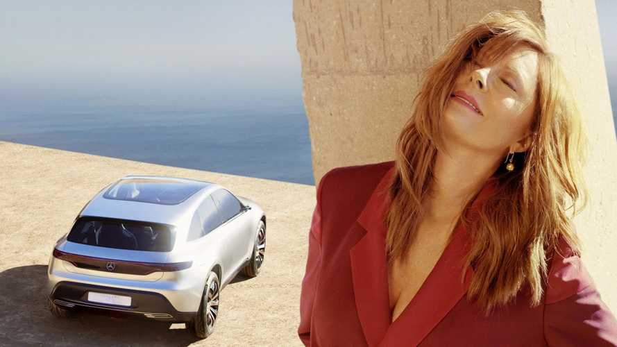 Mercedes-Benz Teams With Susan Sarandon For Concept EQ Photo Shoot - Video