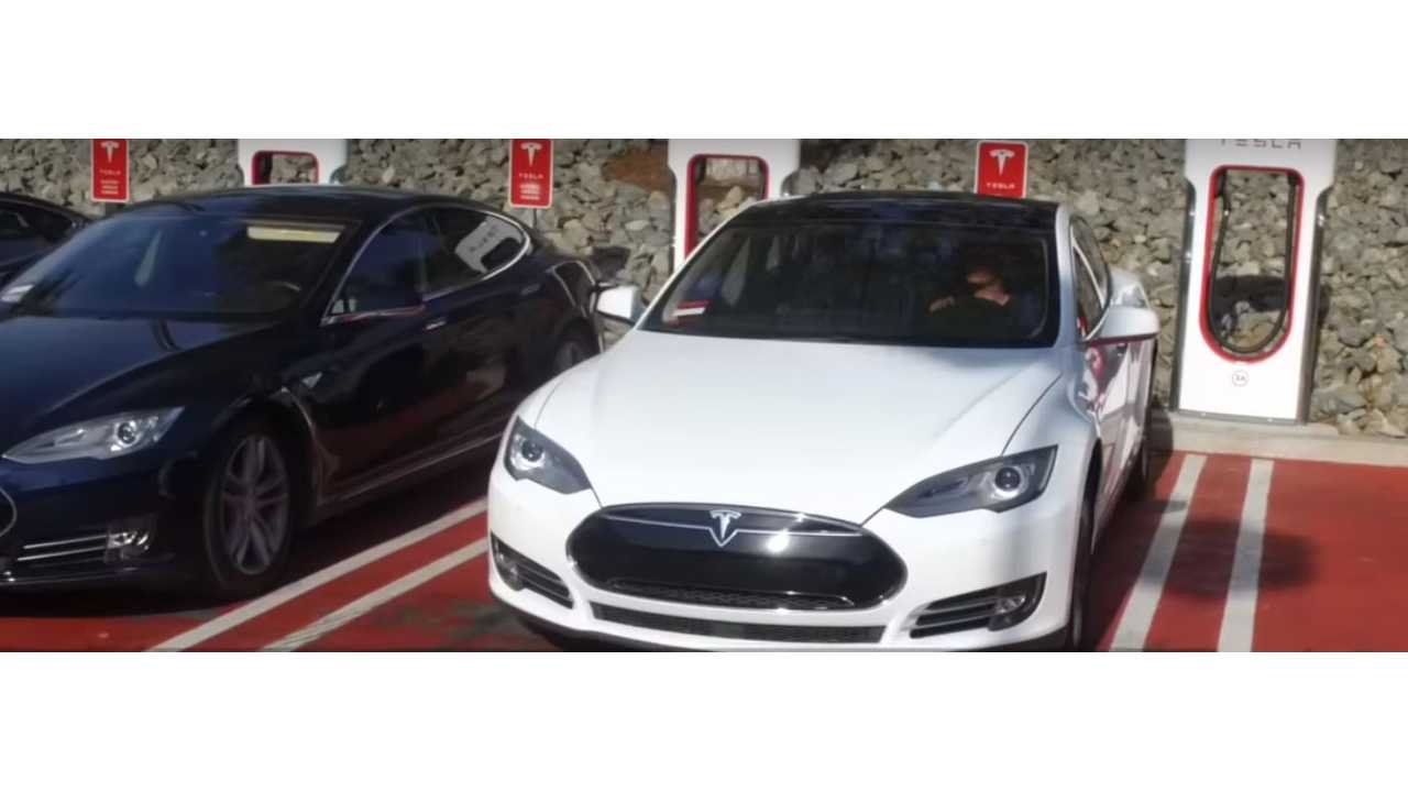 Em Tesloop S Model Has Driven Heavy Mileage Via Its City To