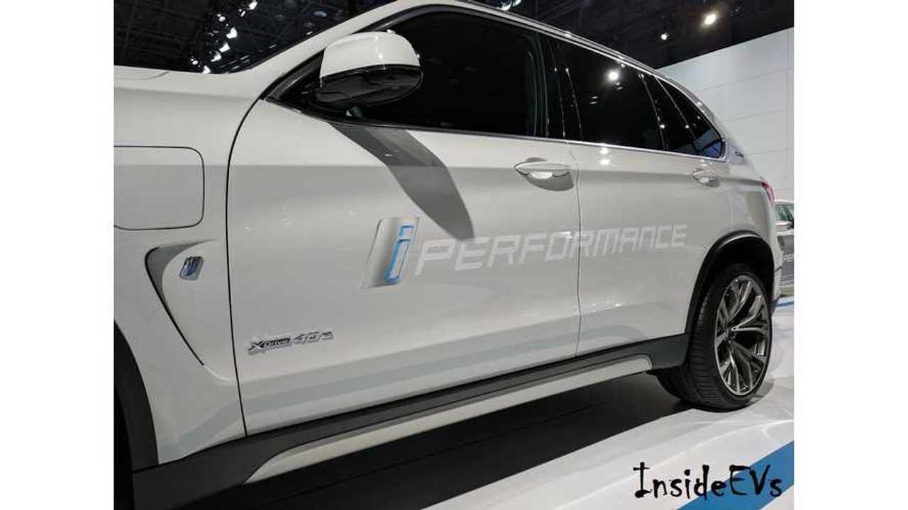 BMW X5 xDrive 40e NYIAS via Tom M iPerformance