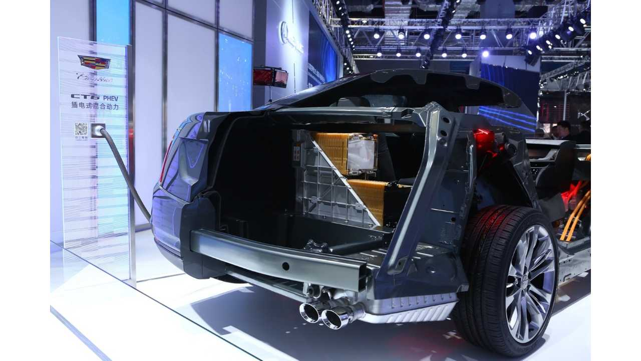 Cadillac CT6 18.4 KWh Trunk Configuration