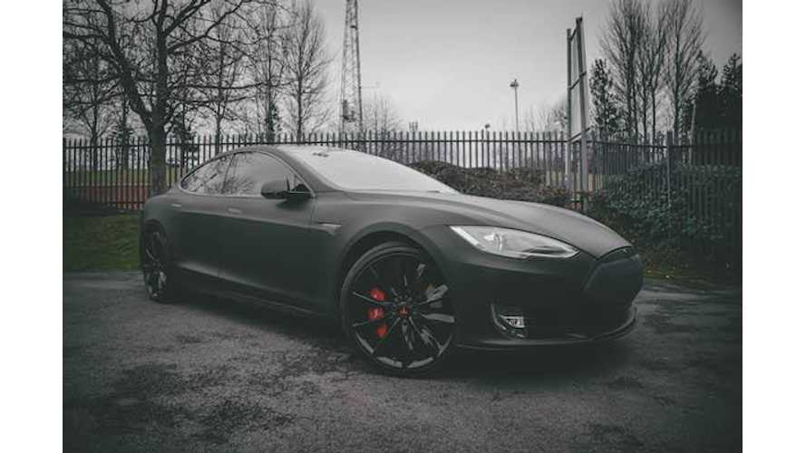 "Check Out Oli Sykes' ""Pimped Out"" Tesla Model S"