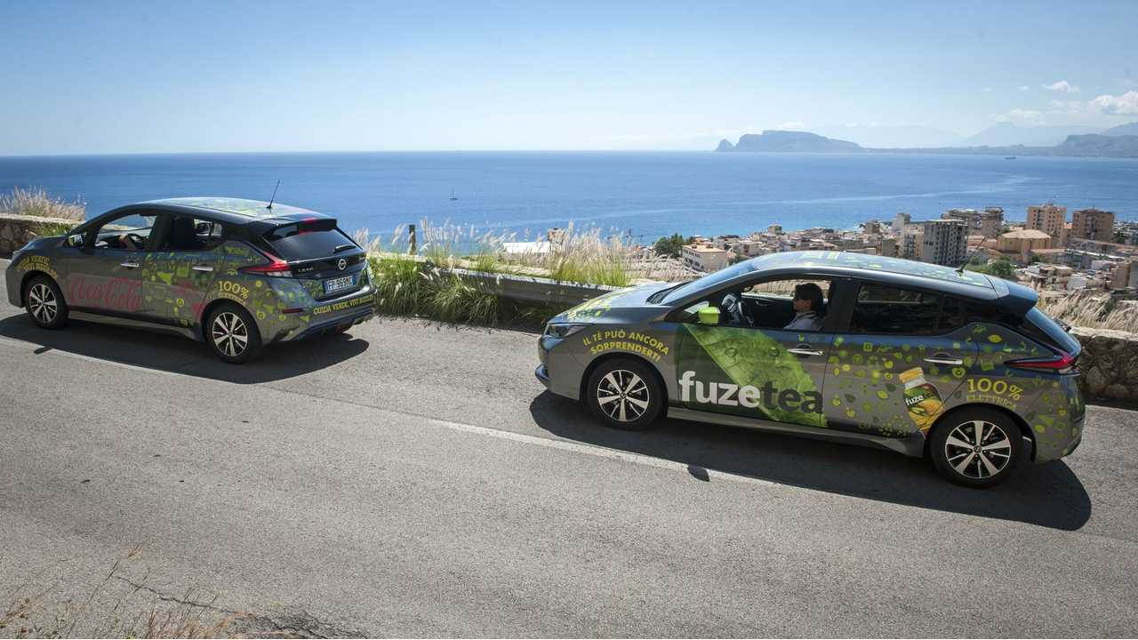 Nissan and Sibeg partner to develop a new electric ecosystem with 110 Nissan LEAFs in Sicily, Italy