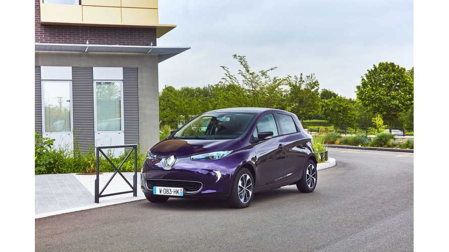 Next-Generation Renault ZOE Expected In 2019 - Unveiling This Fall?