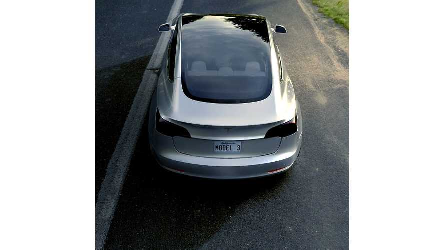 Hole In Roof Key To Mass Production Of Tesla Model 3?