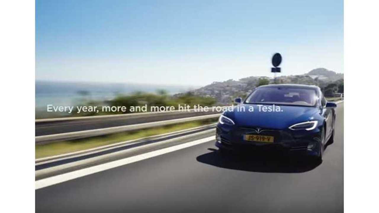Tesla's European Road Trip Video