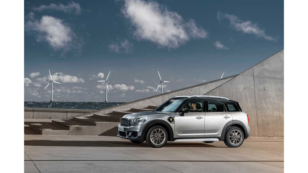 Plug-In Hybrid MINI To Debut At The Los Angeles Auto Show 2016