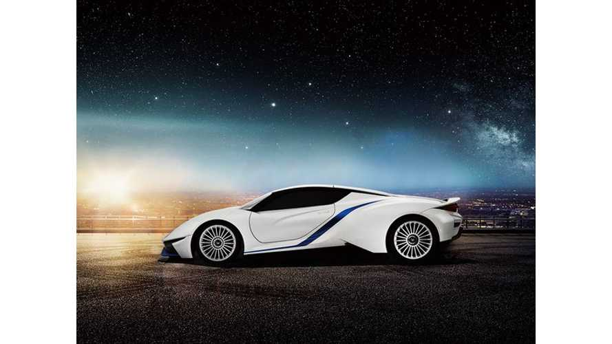BAIC Unveils Arcfox-7 Electric Supercar