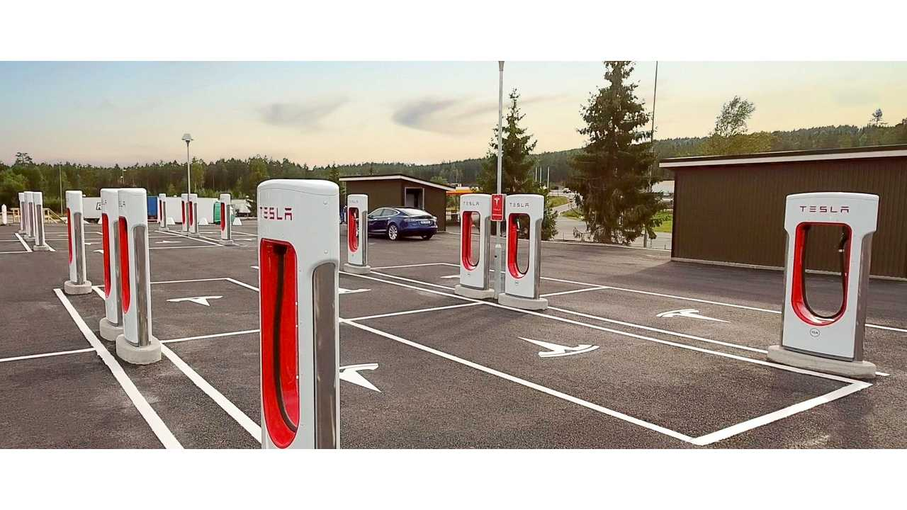 Supercharger location count expanded to 715 locations worldwide by the end of Q3 2016
