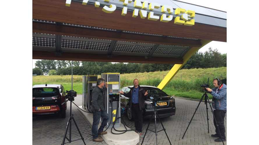 Fastned Fast Charging Network Featured On Fully Charged - Video