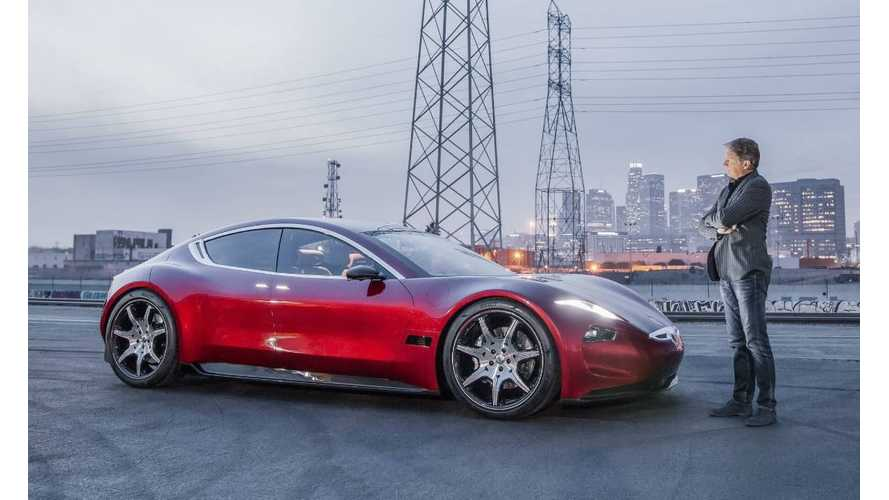 Talking Tesla, Fisker Reveals Major OEM Partnership