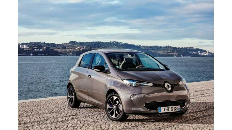 Renault ZOE Becomes UK's Quickest-Selling Used Car