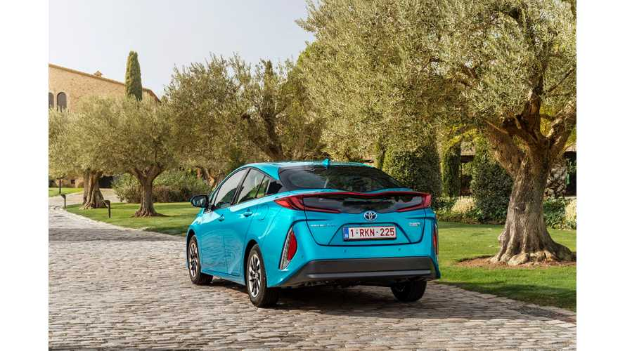 Toyota Prius Plug-In Gets A Big Price Drop In UK Ahead Of Launch