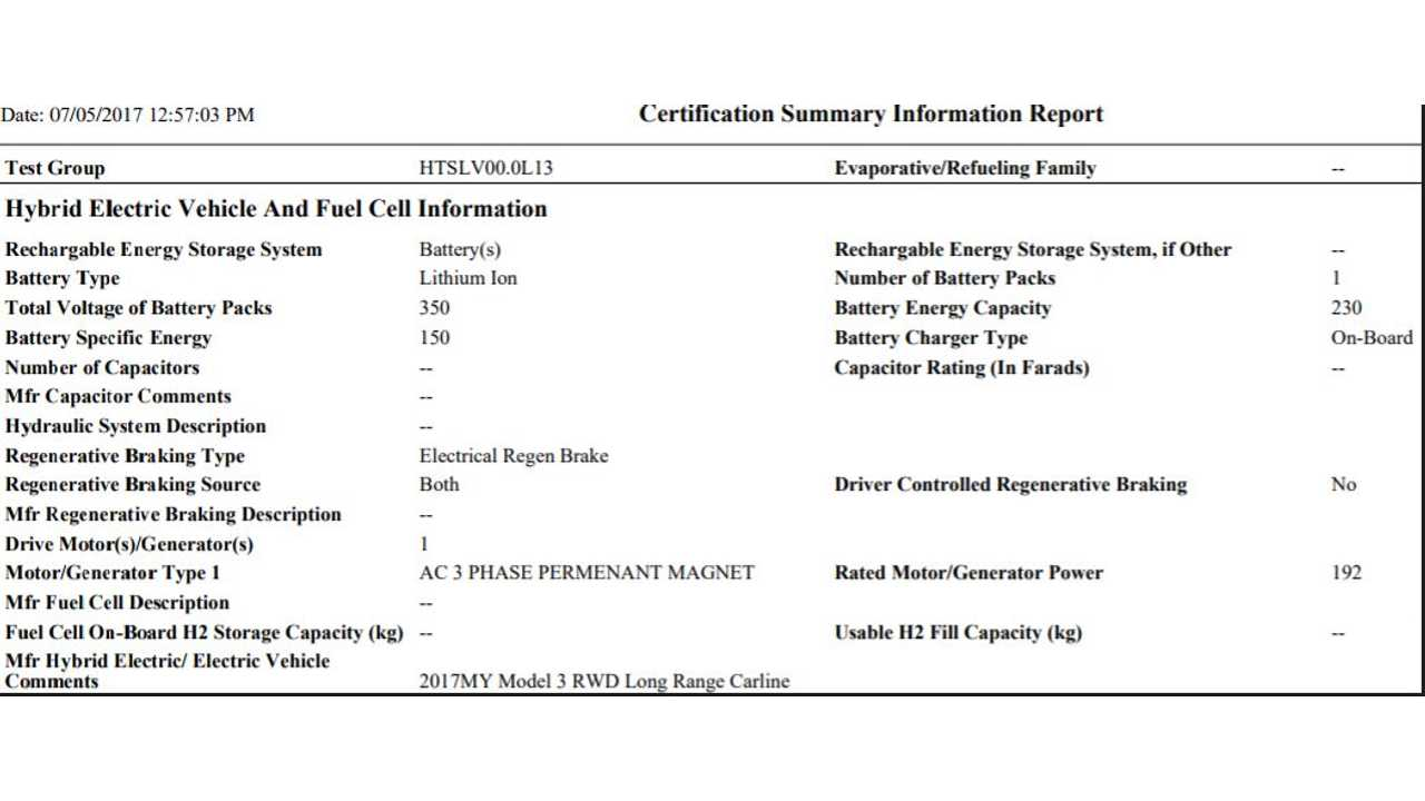 Preliminary EPA Filing Document