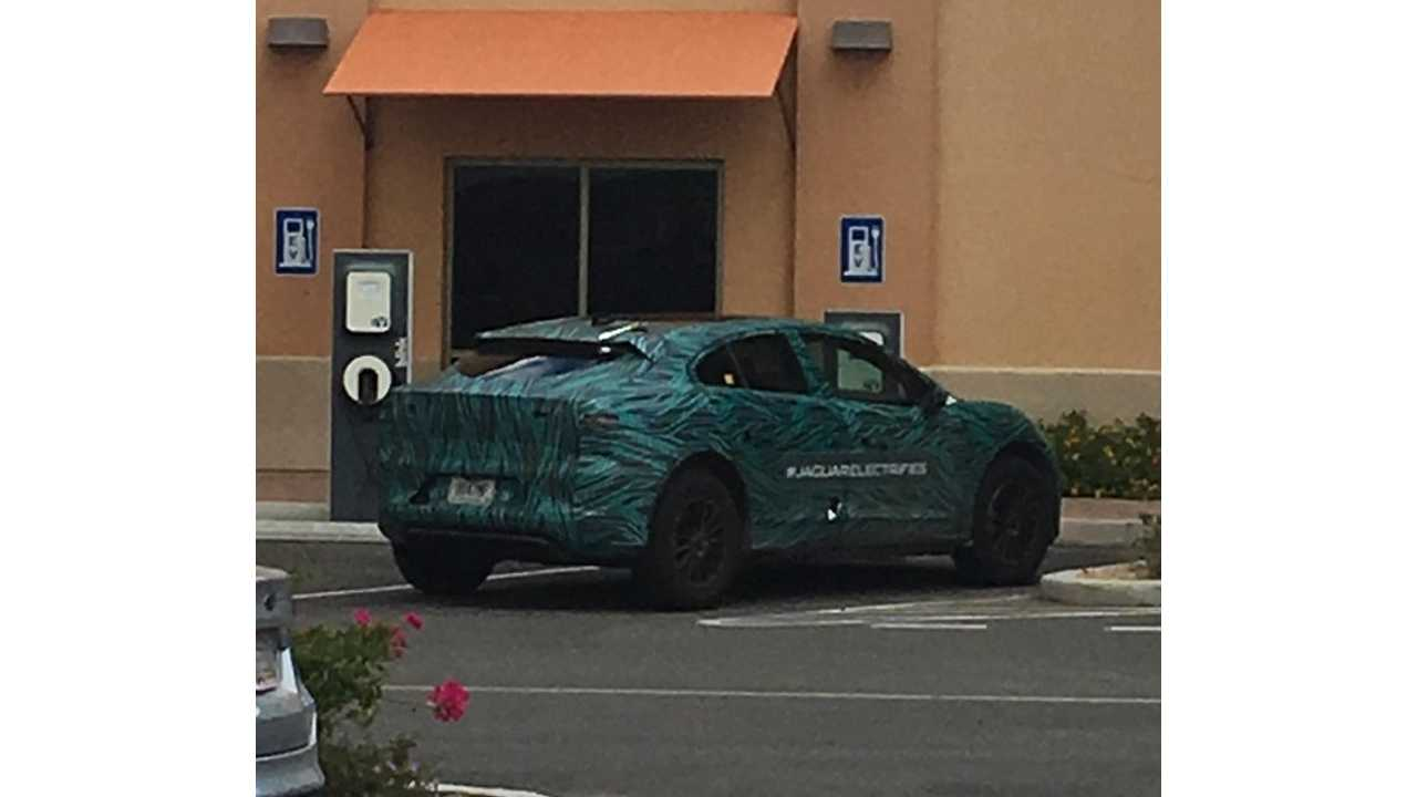 Jaguar I-Pace Turns Up In Phoenix For Some Hot Weather Testing