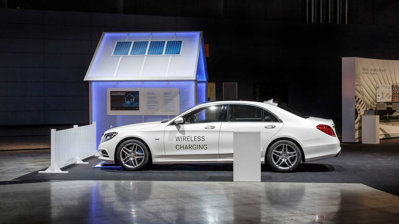 Longer Range 2017 Mercedes-Benz S550e To Get Optional Wireless Charging