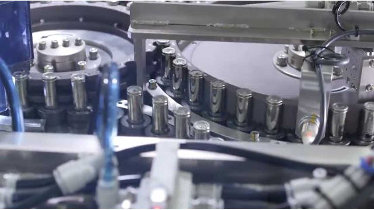 Actual production Of 2170 Battery Cells At Tesla's Gigafactory is underway today!