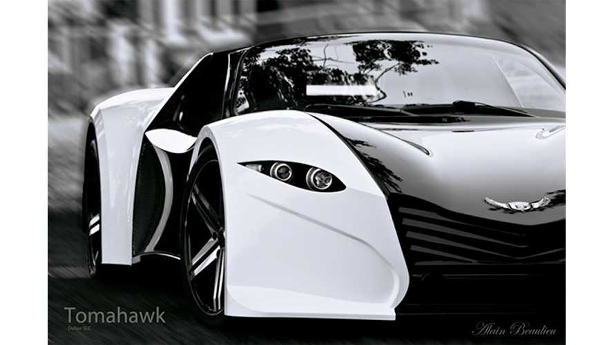 Dubuc Attempting To Crowdsource Launch Of Tomahawk Electric Car