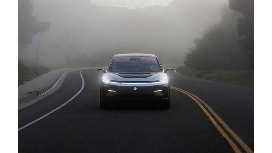 New Faraday Future Video Puts FF 91 On The Road
