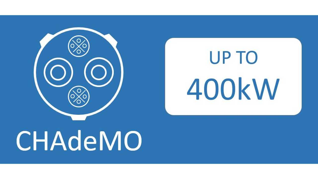 CHAdeMO Standard Ups Power To 400 kW, Surpasses CCS