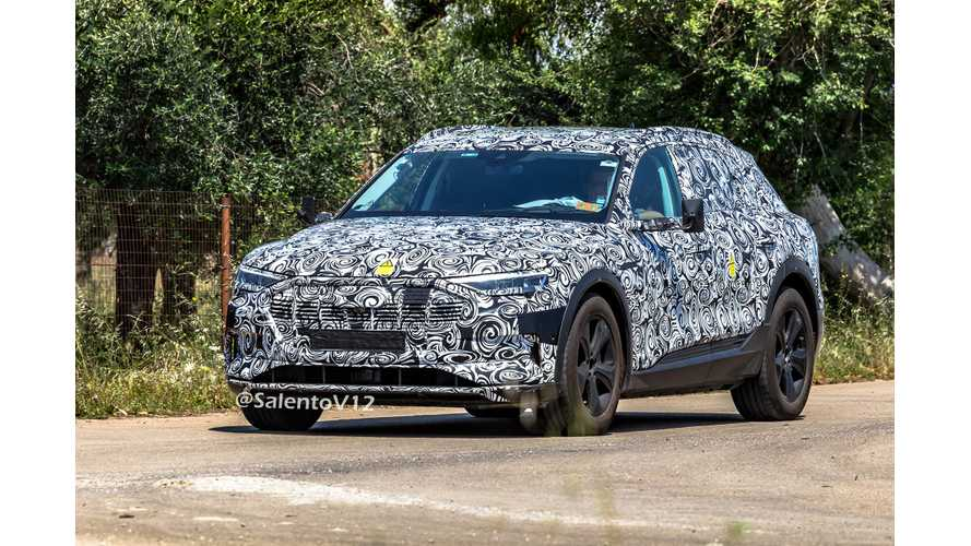 Audi E-Tron Quattro Spied Testing With Seriously Ugly Mirrors