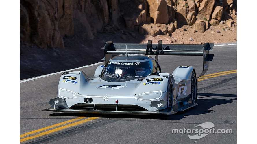 One-Time Shot At Pikes Peak Electric Car Record Tougher Than LeMans